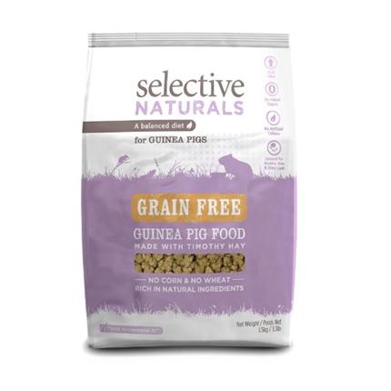 Selective Naturals grain free za morske prašičke - 1,5 kg