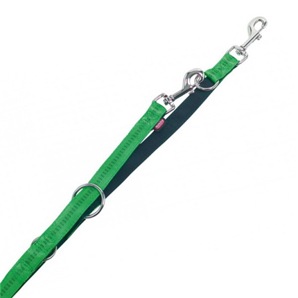 Nobby Soft Grip povodec - zelen - 200 cm