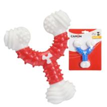 Camon igrača dental TPR+najlon, Y-kost - 12,5 cm