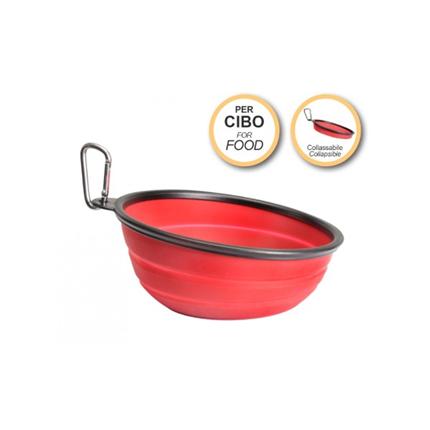 Camon zložljiva silikonska posoda za hrano - 1050 ml