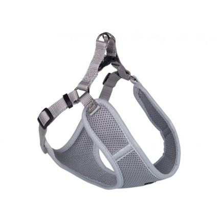Nobby oprsnica Mesh Reflect, siva - 33-41 cm