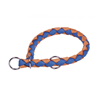 Nobby polzatezna ovratnica Corda - modro oranžna - različne velikosti 39 - 45 cm