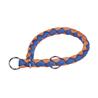 Nobby polzatezna ovratnica Corda - modro oranžna - različne velikosti 43 - 51 cm