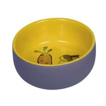 Nobby posoda keramika Carrot Plus, sivo rumena - 11 cm x 4,5 cm