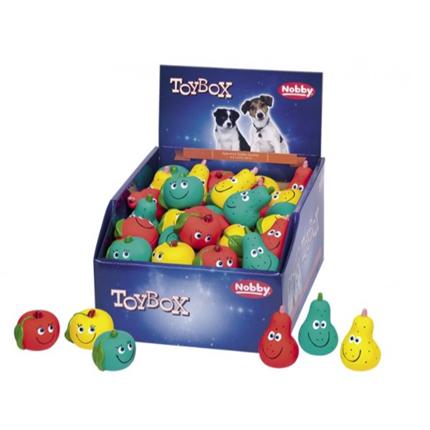 Nobby igrača lateks jabolka in hruške - 5-6 cm