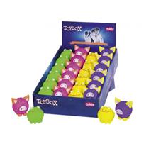 Nobby igrača lateks žoga žaba/pujs - 6-7 cm