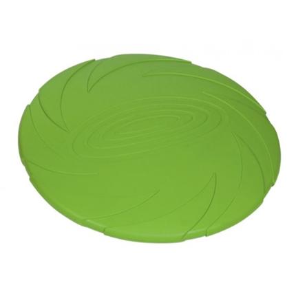 Nobby gumi frizbi Spin, zelen - 22 cm