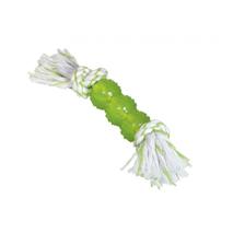 Nobby igrača TPR palica in vrv, zelena - 26 cm