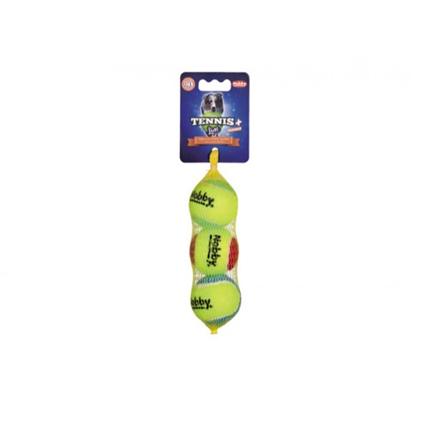 Nobby teniška žoga Squeeker, 3 kos - 5 cm