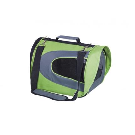 Nobby torba za psa Kando, zelena - 34 x 23 x 24 cm