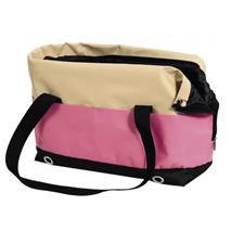 Nobby torba za psa Salta, bež/pink - 40 x 22 x 28 cm