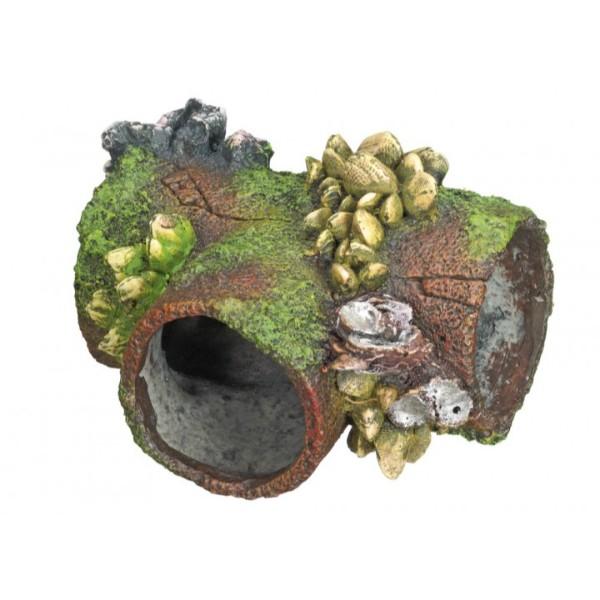 Nobby akvarijski dekor cev in školjke - 11,5 x 8,5 x 7 cm