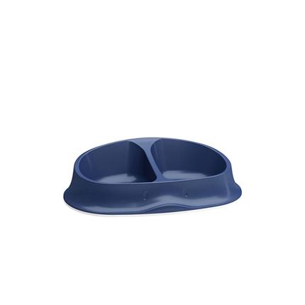 Stefanplast Chic dvojna posoda - mornarsko modra - 27 x 17 x 7 cm