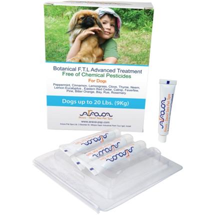 Arava Botanical ampule za pse 0 - 9 kg