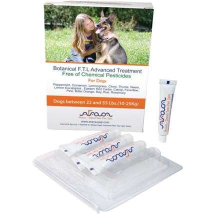 Arava Botanical ampule za pse 10 - 25 kg