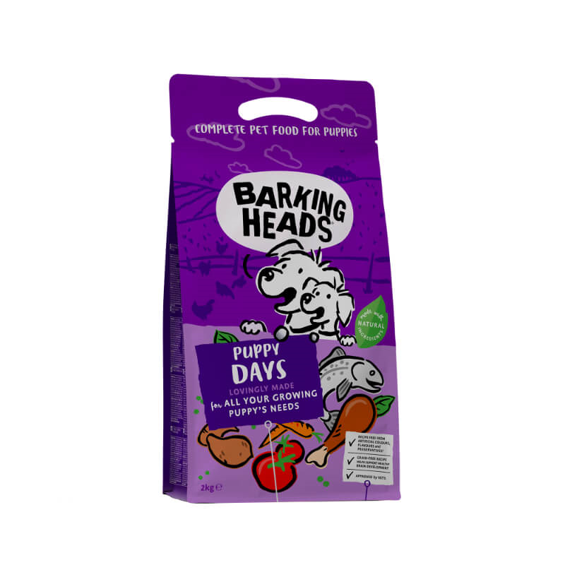 Barking Heads Puppy Days grain free - 2 kg