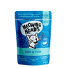 Meowing Heads Supurrr Surf & Turf - riba, piščanec in govedina - 100 g 100 g