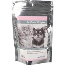 FeliGum Gingiva za mačke in manjše pse - 120 g (60 žvečljivih tablet)