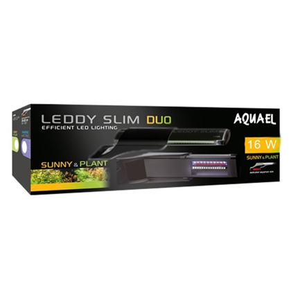 Aquael luč Leddy Slim Duo, črna - 16 W