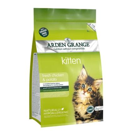 Arden Grange Kitten - piščanec