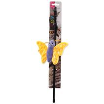 Magic Cat pliš metulj na palici z mačjo meto, mix - 41 cm