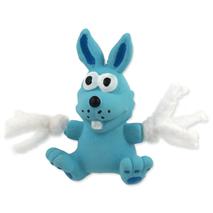 Dog Fantasy igrača iz lateksa, moder zajček - 7 cm