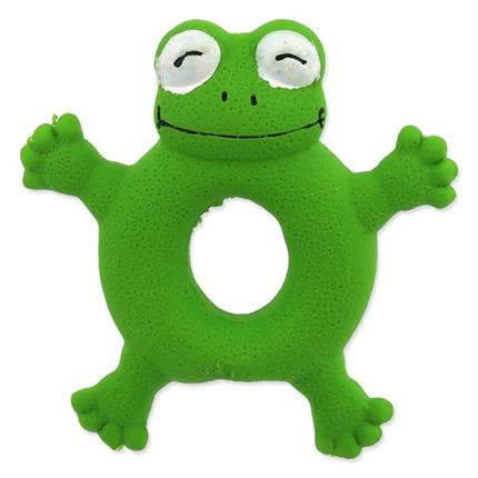 Dog Fantasy igrača iz lateksa, žabec obroč - 10 cm