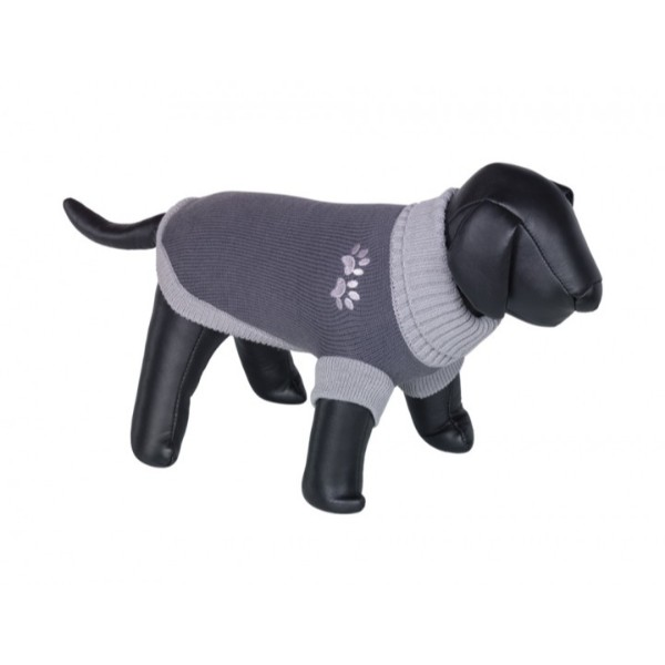 Nobby pulover Paw, siv 40 cm