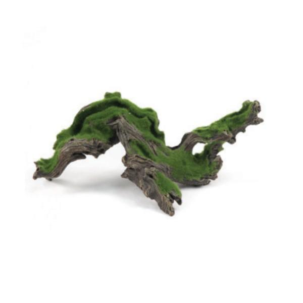 Aquatlantis dekor, korenina z mahom - 38,2 x 18 x 16 cm