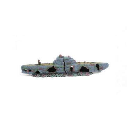Aquatlantis dekor, podmornica - 58 x 9,5 x 14,5 cm
