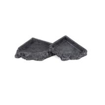 Aquatlantis posoda Corner Feeder - 16 cm