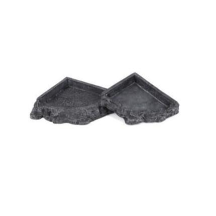 Aquatlantis posoda Corner Feeder - 21,5 cm