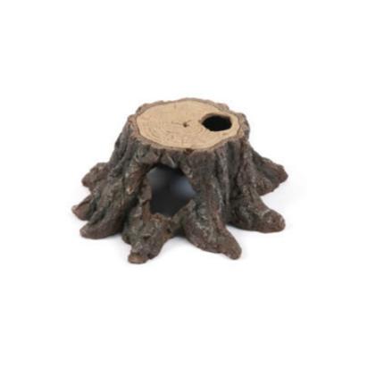 Aquatlantis skrivališče Tree Trunk z luknjo - 18,5 x 19 x 8 cm