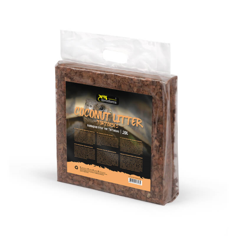 Aquatlantis podlaga za terarij Coconut Litter Turtle - 20 l