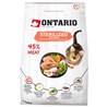 Ontario Cat Sterilised - losos 400 g