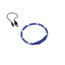 Nobby varnostna LED ovratnica, modra