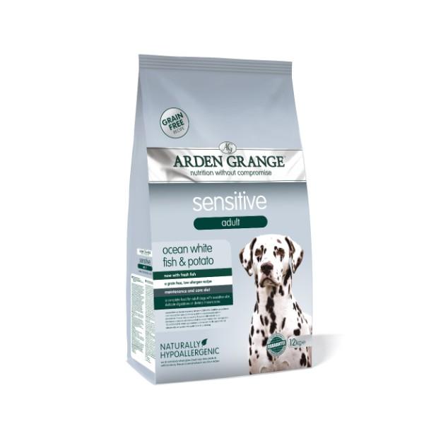 Arden Grange Adult Sensitive – sveža riba 12 kg