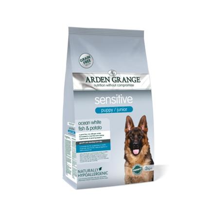 Arden Grange Puppy Junior Sensitive - sveža riba - 2 kg