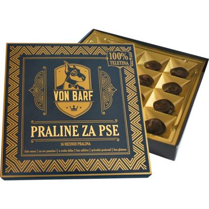 Von Barf praline - 100% teletina - 40 g