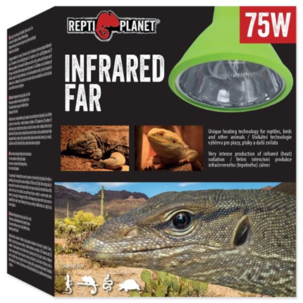 Repti Planet grelna žarnica Far Infrared Heat - 75 W