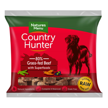 Natures Menu Country Hunter Nugget - govedina pašne živali - 1 kg