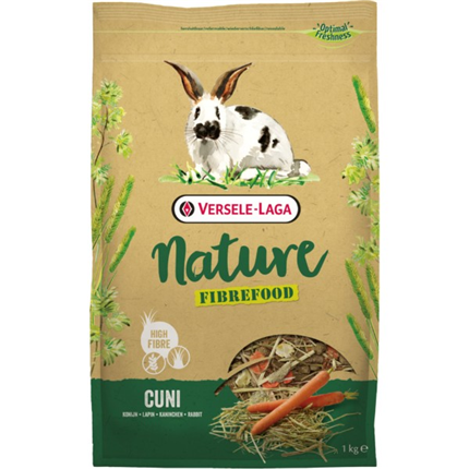 Versele Laga Nature Fibrefood Cuni hrana za kunce - 2,75 kg