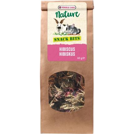 Versele Laga Nature Snack Bits posladek s hibiskusom - 60 g