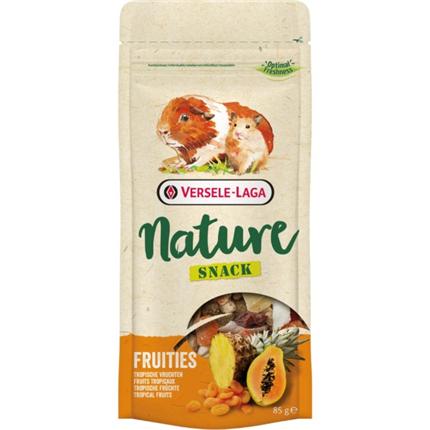 Versele Laga Nature Snack Fruities posladek s tropskim sadjem - 85 g