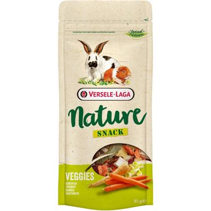 Versele Laga Nature Snack Veggies posladek z zelenjavo - 85 g