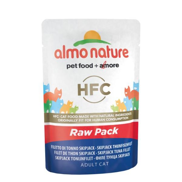 Almo Nature HFC Raw Pack - file Skip Jack tuna 55 g
