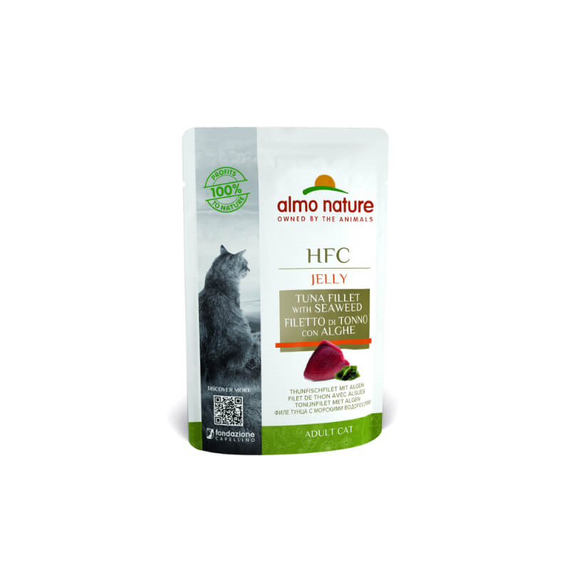 Almo Nature HFC Cuisine - file tune in alge 55 g