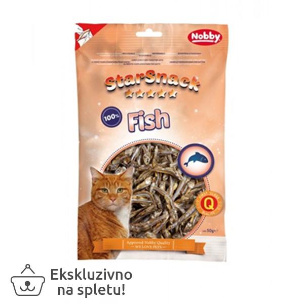 Starsnack posušene ribice - 50 g