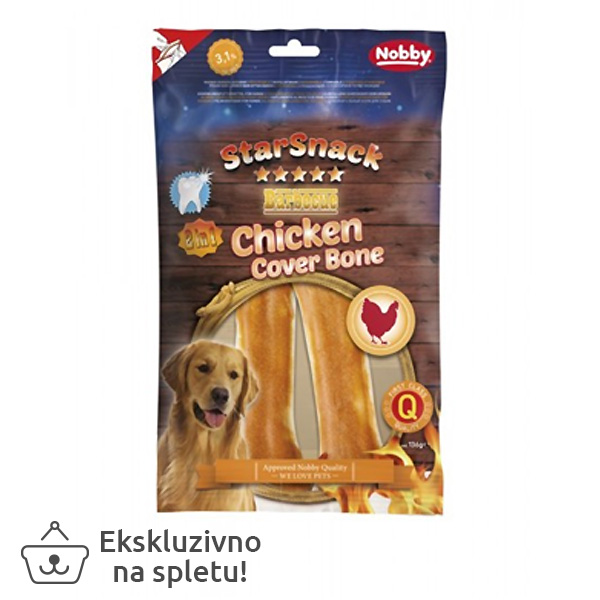 Starsnack Barbecue Chicken Cover Bone, 15 cm - 136 g (2 kos)