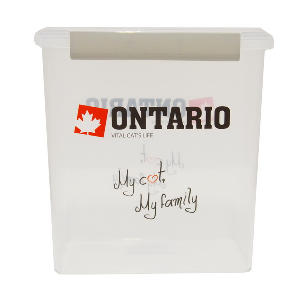 Ontario posoda za hrano My Cat My Family 5l